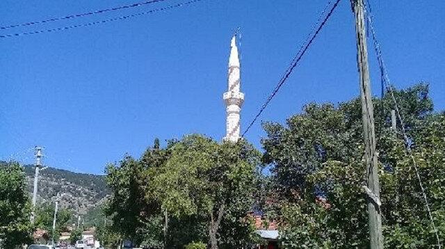 Cami minaresi kaydı
