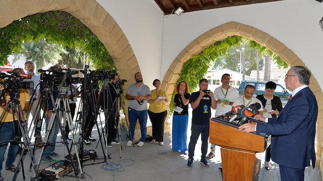 برعاية أممية.. اجتماع مغلق يجمع زعيمي قبرص التركية والرومية