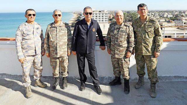 Komutanlar Maraş'ta