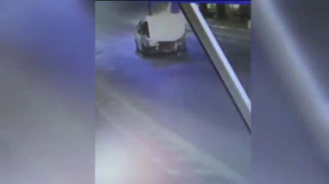 Drift yapan sürücü kovalamaca sonucu yakalandı