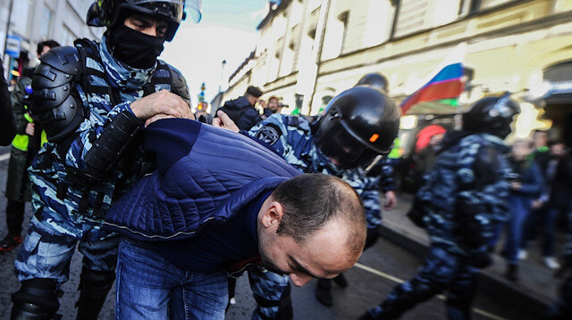 Rusya'daki protesto gösterileri