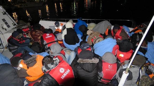 تركيا.. ضبط 49 مهاجرًا غير نظامي أثناء محاولتهم التسلل لليونان