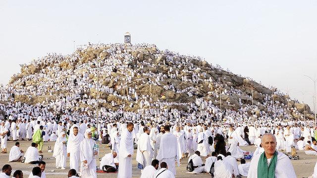 Arafat'ta dua ve heyecan