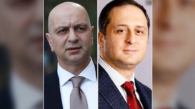 FETÖ'nün para kasalarından Akın İpek ve FETÖ'cü Avukat Rasim Kuseyri.
