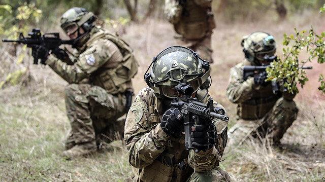 Operasyondaki askerler. Fotoğraf: Arşiv.