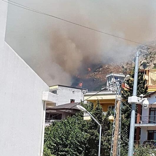 Marmara Adası'ndaki yangın tamamen kontrol altına alındı