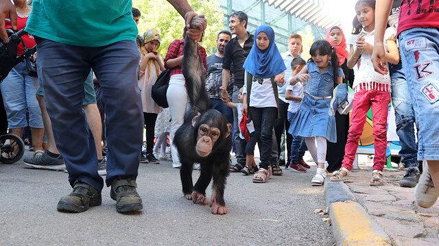 """تركيا.. إقبال كبير على حديقة حيوانات """"غازي عنتاب"""" خلال العيد"""