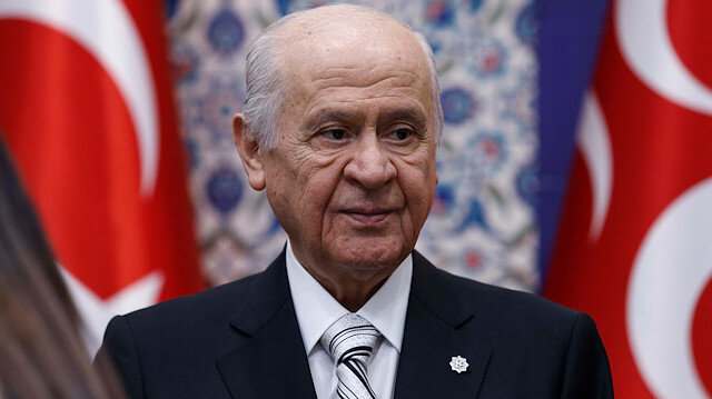 MHP Chairman Devlet Bahçeli