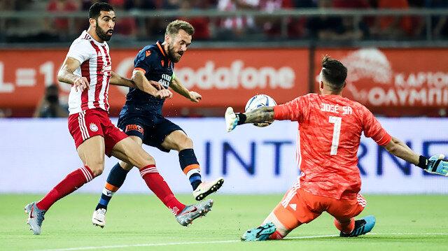 Olympiakos kalecisi Jose Sa maçın yıldızı oldu