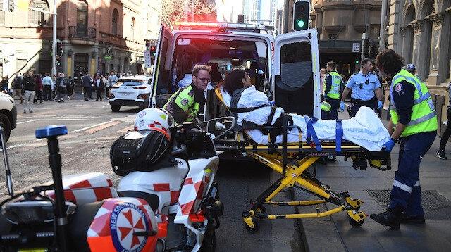 Yaşanan olayda bir kadın yaralandı.