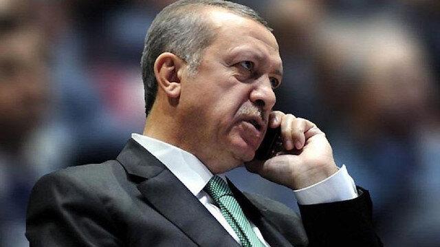 Erdoğan'dan Destici'ye bayram telefonu