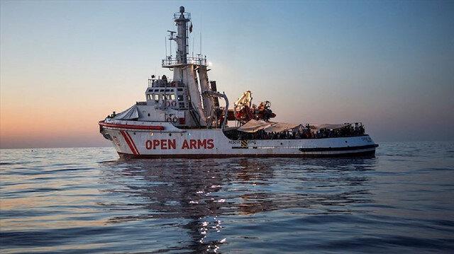 İspanyol STK Proactiva Open Arms gemisi