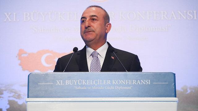 Mevlüt Çavuşoğlu Asya açılımını 11. Büyükelçiler Konferansı'nın açılışında ilan etmişti.