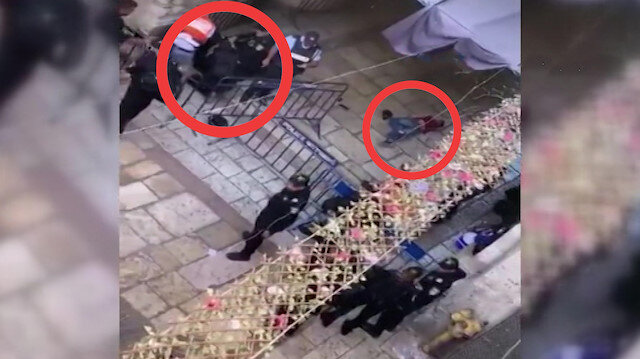 İşgalci İsrail askerleri Mescid-i Aksada 2 Filistinliyi yaraladı