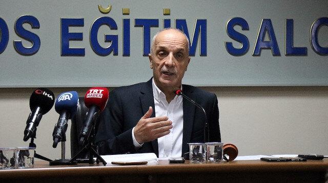 Türk-İş Genel Başkanı Ergün Atalay