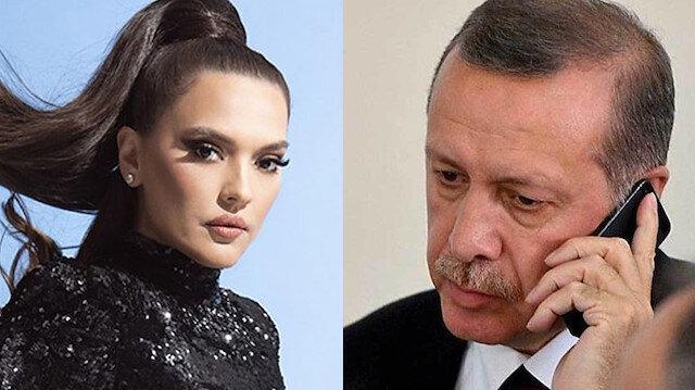 Demet Akalın-Cumhurbaşkanı Recep Tayyip Erdoğan