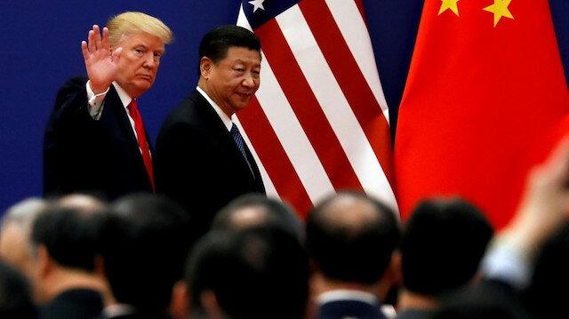 ABD Başkanı Donald Trump, Çin Devlet Başkanı Şi Cinping.