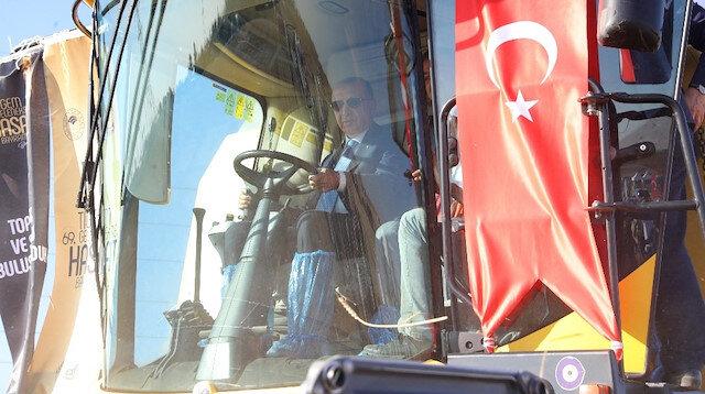 Cumhurbaşkanı Erdoğan deneme sürüşü yapmıştı.