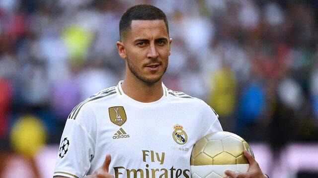Hazard, 100 milyon euro bonservis bedeli karşılığında Chelsea'den Real Madrid'e transfer oldu.