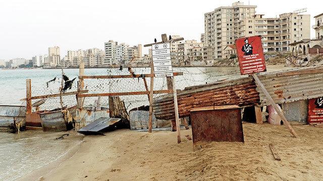 1974 Kıbrıs Barış Harekatı'ndan beri kapalı bulunan Maraş ili.