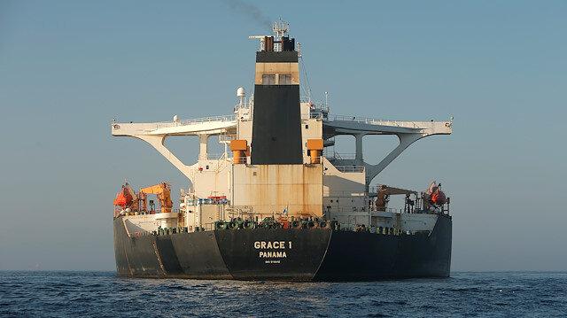 File photo: Iranian oil tanker Grace 1