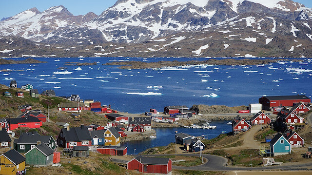 Grönland Adası.