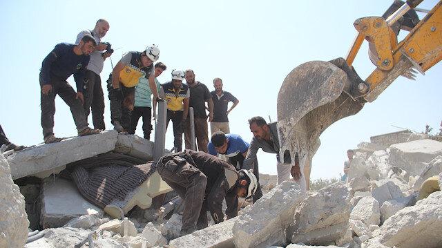 مقتل 6 من أسرة واحدة في غارة لنظام الأسد على