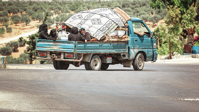 Suriye de 3 lü yağma