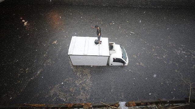 İstanbul'da dehşete düşüren kareler