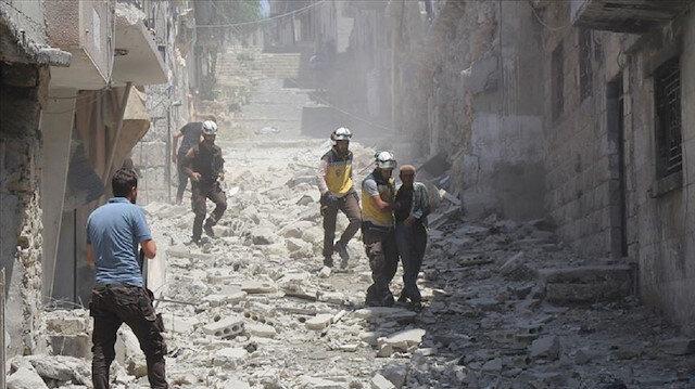 مقتل 13 مدنيًا في غارة روسية على