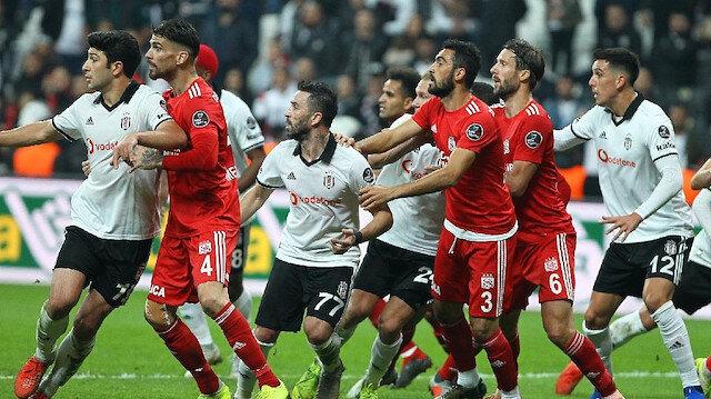 Beşiktaş ile Sivasspor'un ligde golsüz maçı yok