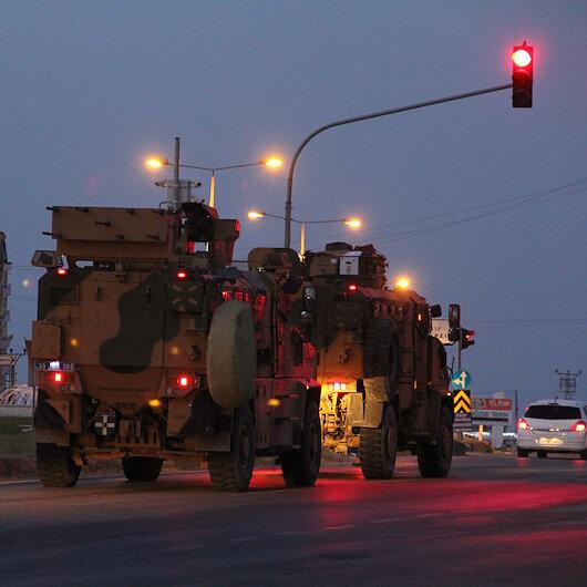Zırhlı araçlardan oluşan konvoy Hatay'a ulaştı
