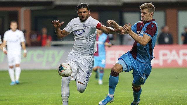 Kasımpaşa-Trabzonspor: 1-1