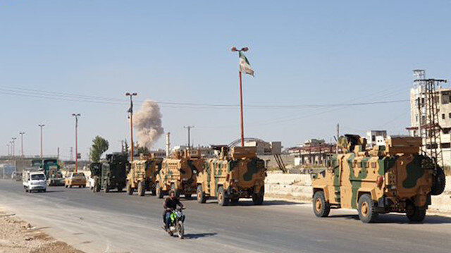 Türk askeri konvoyuna provokasyon: Gözlem noktamıza intikali engelleyemezler