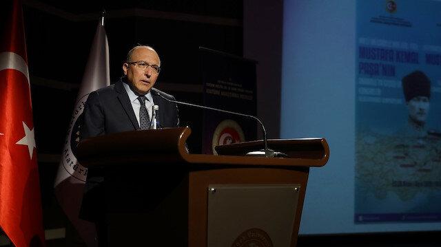 Prof. Dr. Haluk Dursun son konuşmasını Malazgirt'te yaptı