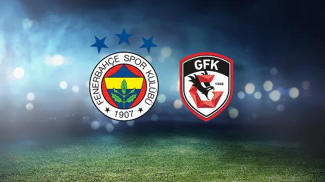 Fenerbahçe-Gazişehir Gaziantep