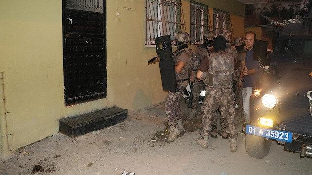 Adana'da PKK/KCK operasyonu