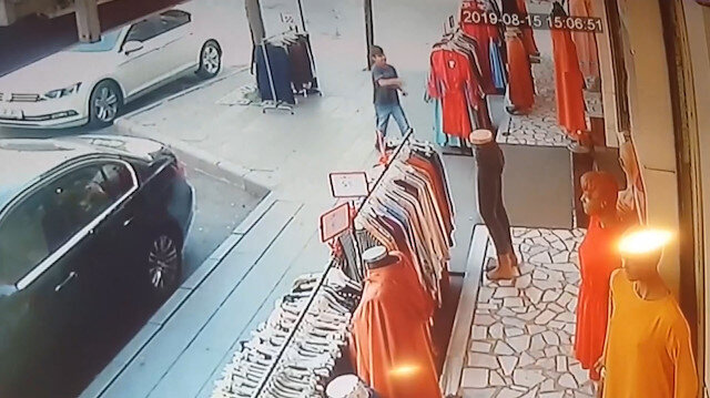 Mağazaya torpil atıp kaçtı