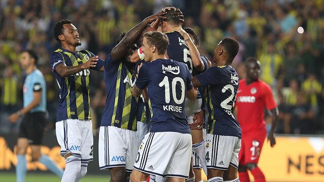 Fenerbahçe-Gazişehir Gaziantep: 5-0