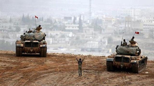 القوات التركية في درع الفرات ترد على قصف