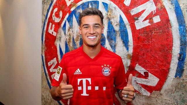 Bayern Coutinho'yu açıkladı