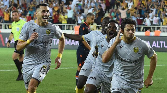 Yeni Malatyaspor- Medipol Başakşehir: 3-0