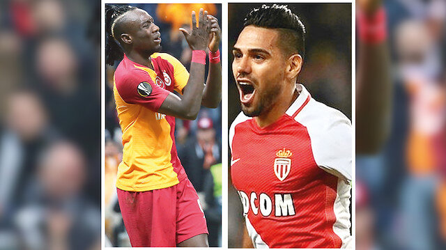 Mbaye Diagne ve Radamel Falcao