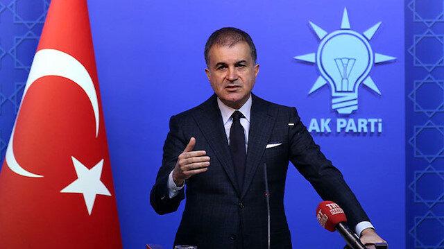 AK Parti Sözcüsü Çelik: Yanlış yollara tevessül ettiler