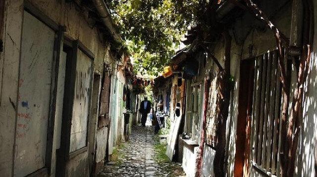 En dar sokağın restore edilmesi isteniyor