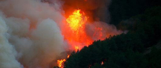 Yangın 53 saat sonra kontrol altında