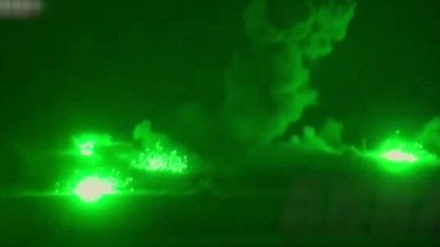 Esed rejiminin Suriye'yi bombaladığı görüntüler ortaya çıktı