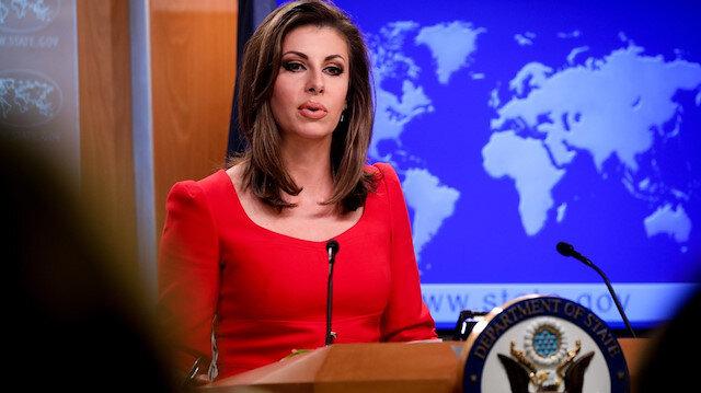 U.S. State Department spokeswoman Morgan Ortagus