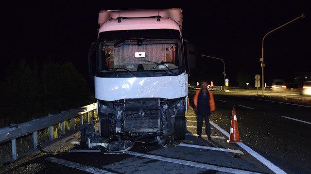 Konya'daki kazada cipe çarpan TIR