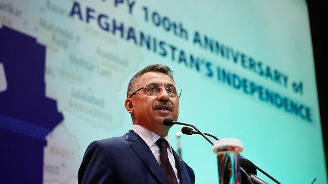 Turkey's Vice President Fuat Oktay